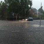 Nyderlanduose audros su perkūnija sukėlė didžiulius potvynius – laukiama dar daugiau lietaus