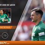 E.Šetkus antrą kartą tapo geriausiu Olandijos savaitės žaidėju