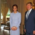 Kate žavėjo olandus per pirmą savo savarankišką vizitą Nyderlanduose
