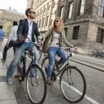 Kaip susidraugauti su olandais dviratininkais