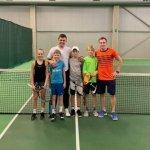 Balžeko teniso akademijoje – pirmoji Olandijos berniukų raketė