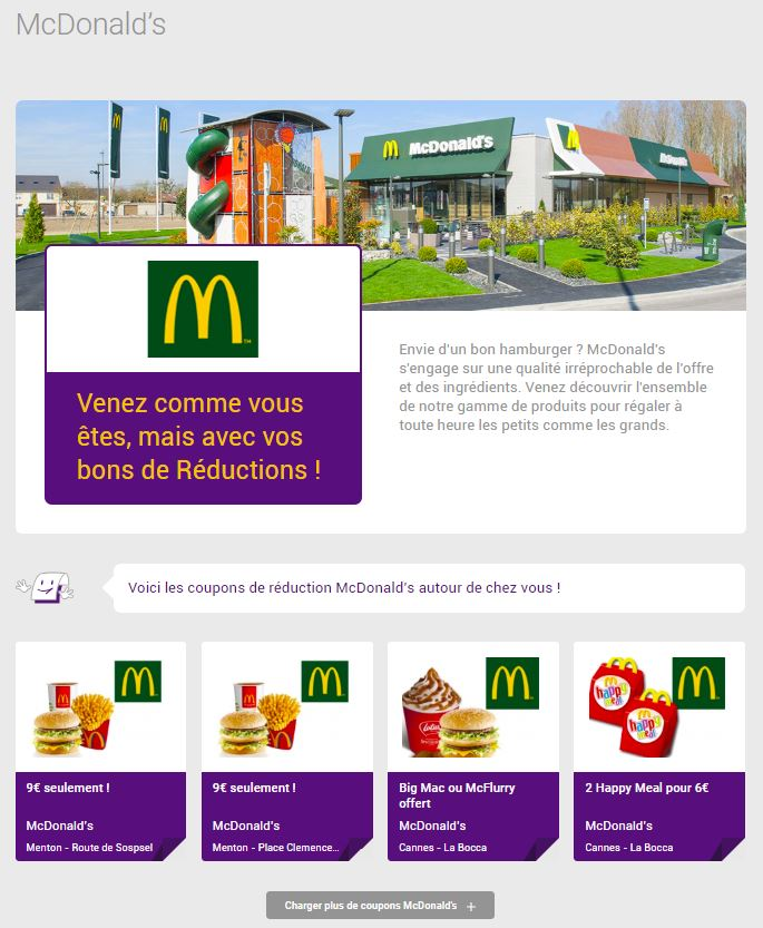 Mac Do Autour De Moi : autour, Coupon, Mcdonalds, Coupons, Reduction, Reductions, Imprimer, McDonald's, Olapromo, Specialiste