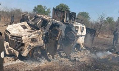 How The Newly Army Acquired Phantom II personnel carrier destroyed and capture by the (ISWAP-BOKO HARAM)