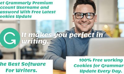 Grammarly Premium Account Username and Password With Free Latest Cookies Update