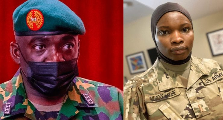 Wear Hijab If it's Going To Save You from bullet 'CAN' to Military Ladies.