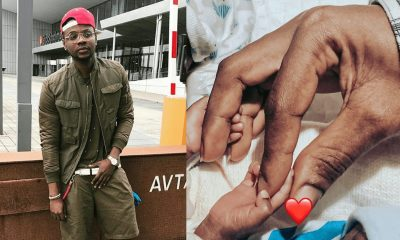 Kiss Daniel Welcome twins on his birthday (PHOTO)