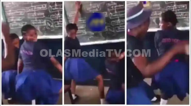 Unbelievable!! See What SHS students Capture Doing In Classroom [VIDEO]