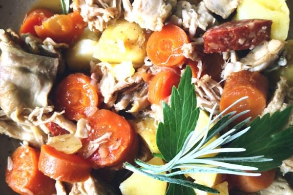 Kochidee:  Kaninchen aus dem Dampf