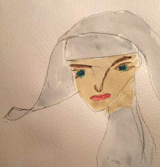 Bei den Nonnen