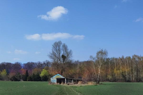 Das Haus im Feld