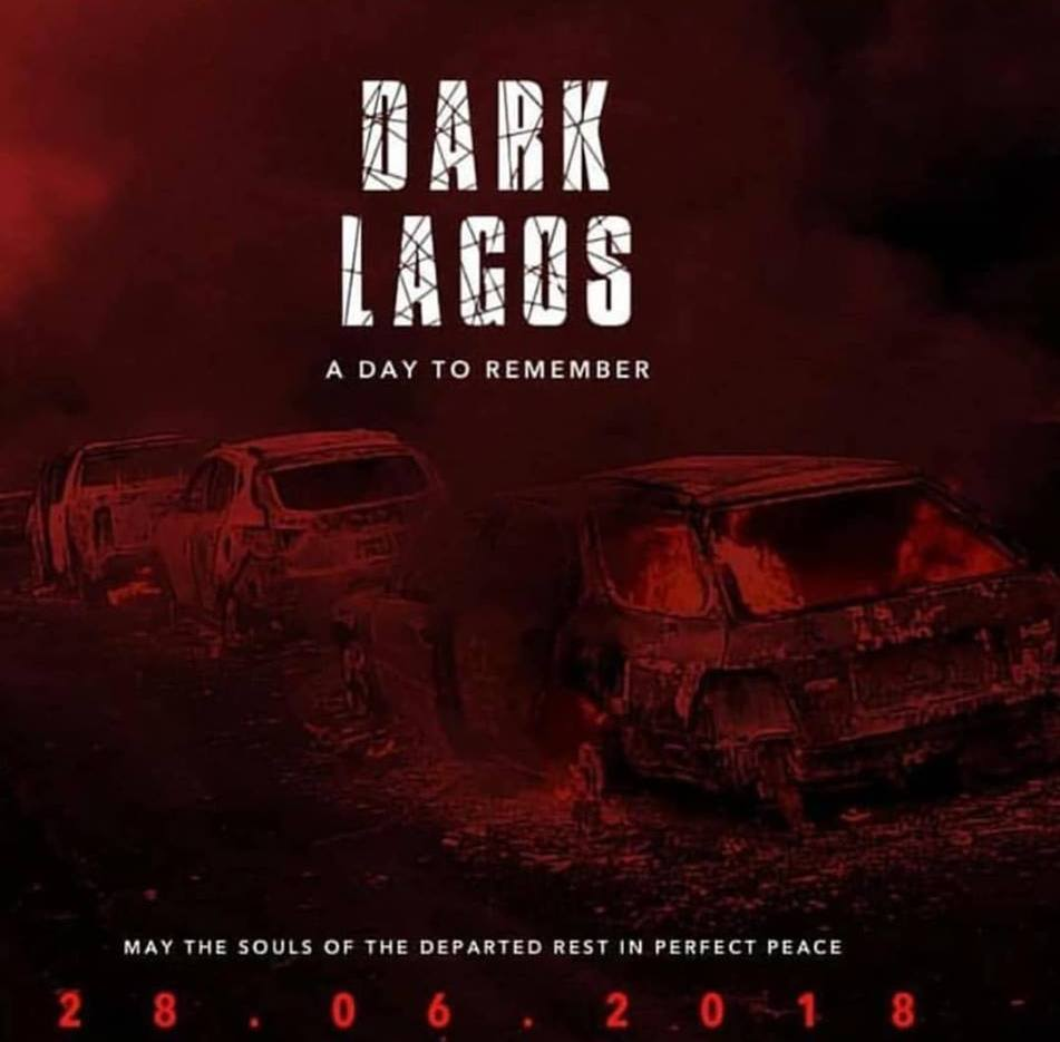 DARK LAGOS - A day to remember for Lagos Fire Outbreak 28-06-2018