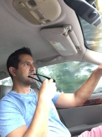 J-Rod, chauffeuring me through L-Town.