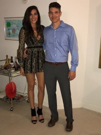 Ringing in the New Year with Codi in Palm Beach.