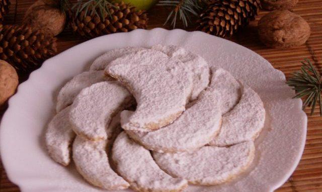 Vaníliás-diós holdak, karácsony, advent, aprósüti
