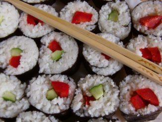 maki sushi házilag