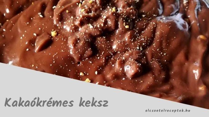 kakaókrémes keksz