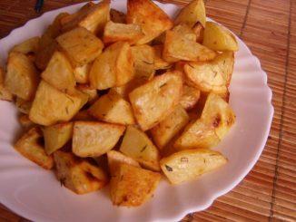 sütőben sült burgonya, sütőben sült rozmaringos burgonya, tepsis burgonya, tepsis krumpli