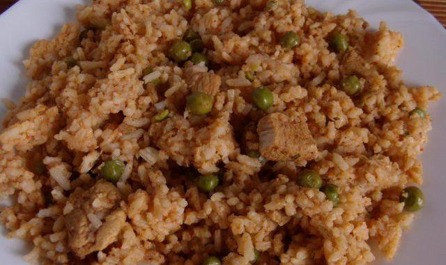 egyszerű bácskai rizseshús