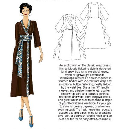 Wong-Singh-Jones wrap dress