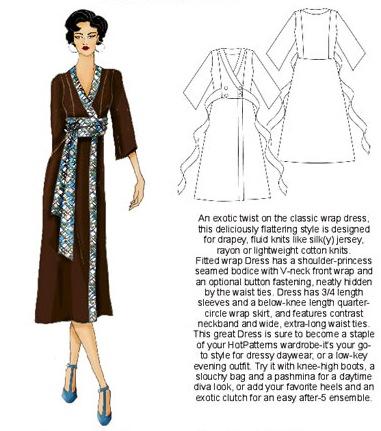 Wong-Singh-Jones wrap dress