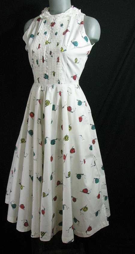 snail dress
