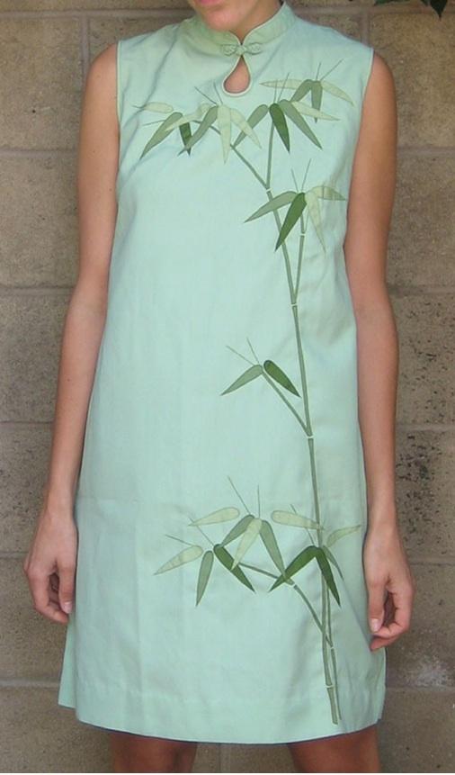 Bamboo Applique dress