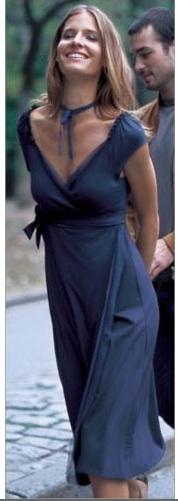 la redoute wrap dress