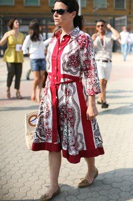 sartorialist dress