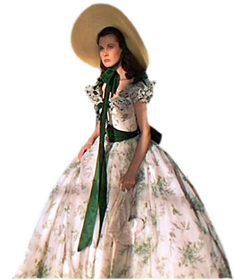 gone with the wind barbecue party dress