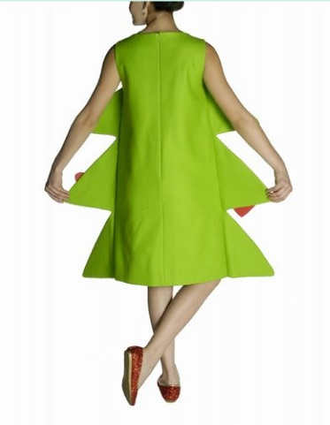 Agatha Ruiz de la Prada Xmas tree greenpeace dress