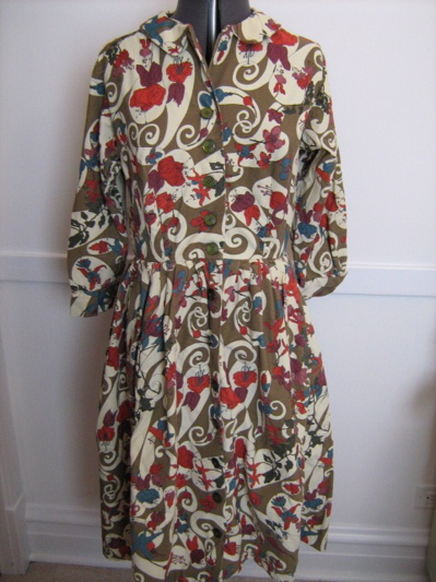 liberty shirtdress
