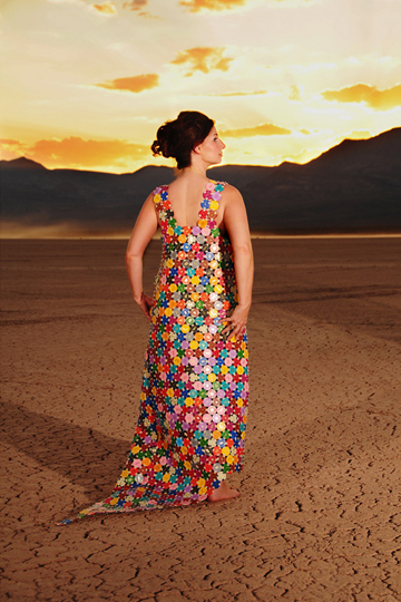 Casino Chip Dress