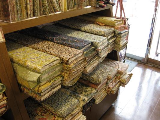 Fabric Shopping in Japan