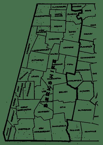 Map Of Berkshires Ma : berkshires, Berkshire, County