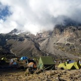 Barranco Camp (3950 m)