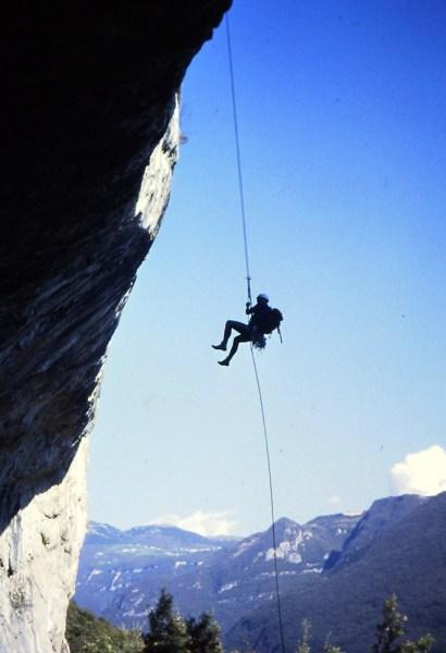 Monte Cimo, Val d'Adige – Via Spigolo del IV sole (2003)