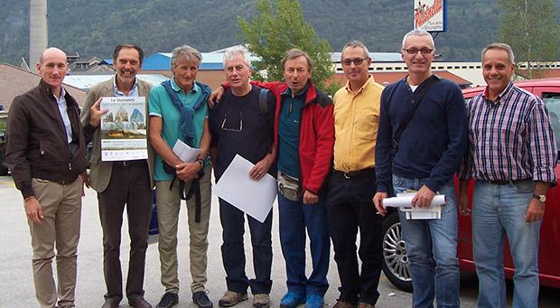 da sinistra: Teddy Soppelsa, Flavio Faoro, Loris De Barba, Luca Visentini,