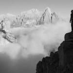 1. L'alba, salendo la Cima Ovest dei Ferùch (©loris de barba)