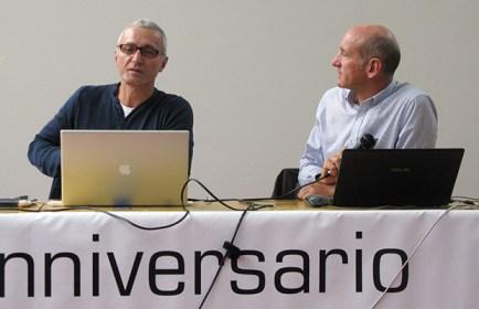 Alberto Peruffo (a sx) e Teddy Soppelsa