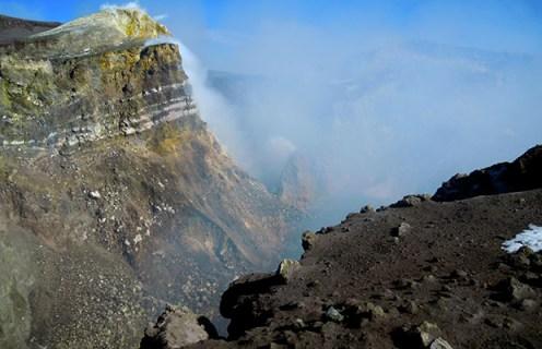 Il Cratere Centrale (ph. Claudio Loreto)