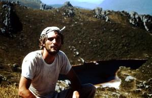 L'autore del post prima del bagno nel lago Oberon, 1992