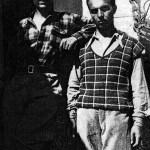 Domenico Rudatis (a sx) al rifugio Vazzoler con Renzo Videsott (1929)