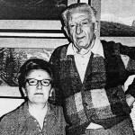 Domenico Rudatis con Angelina Faè da Liberazione (1980 ca.)