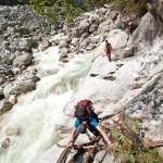 10. Passaggio roccioso sul bordo del Talung (ph E. Ferri – K2014.it)