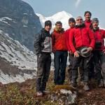 5. Il team alla fine della Puja (ph E. Ferri – K2014.it)
