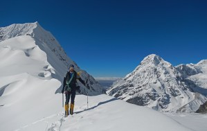 6. Davide sta per arrivare al Colle Tilman (5420 m)