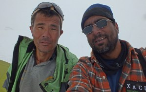 12. Thendup Sherpa e Anindya Mukherjee, i nostri formidabili compagni di esplorazione