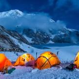 6. Foto notturna del Campo Simvo (5100 m)