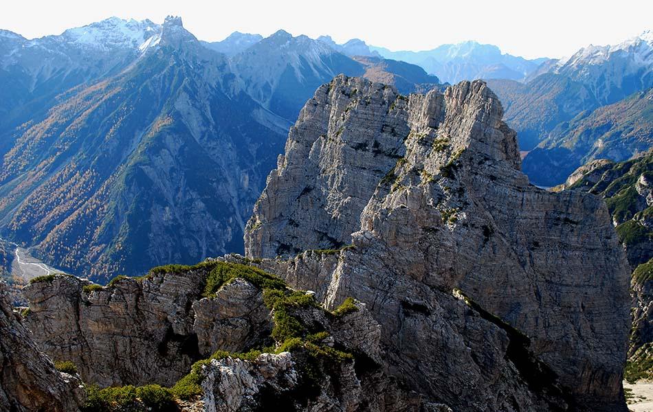 7. Nell'ultima parte della cresta prima di Cima Stalla (ph. Loris De Barba)