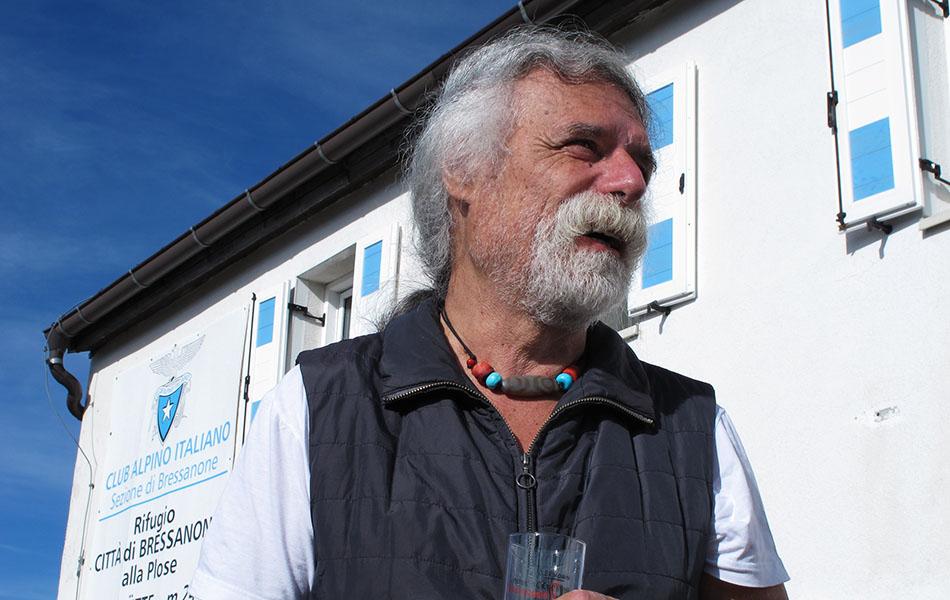 Sandro Filippini al IMS Walk Day 2014 (© ph. Teddy Soppelsa)